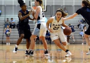 Gallery: Varsity girls' basketball vs Leavenworth