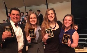 Four East Students Qualify for National Forensics Competition