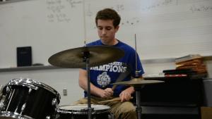 East Feature: Jason Rhoads Drum Line