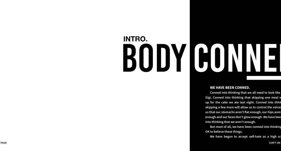 BODY CONNED: A Body Image Project