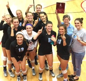 Volleyball Wins Lansing Tournament