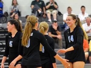Gallery and Recap: Girls Varsity Volleyball Duals DeSoto