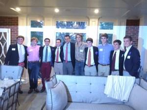 Young Republican's Club Attend Congressman's Fundraiser