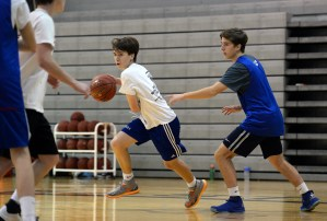 Gallery: Boys' Basketball Tryouts
