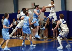 Live Broadcast: Varsity Boys' Basketball vs. Center