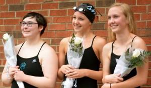 Girls Swim Senior Night Recap vs. SM South