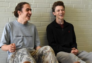 Humans of East: Jonah Howard and Cory Mcguire