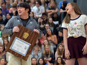 Andy Walter Wins Teacher of the Year