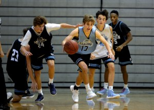Gallery: Basketball Blue and Black Scrimmage