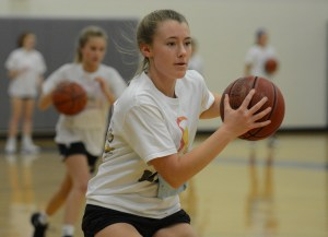Gallery: Girls Basketball Tryouts