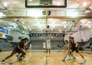 Gallery: Boys JV Basketball vs. Olathe North