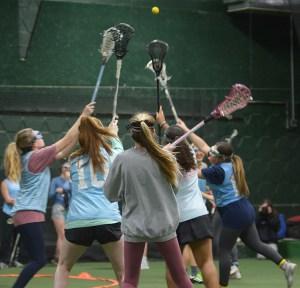 Gallery: Girls Varsity Lacrosse Practice