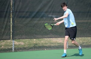 Gallery: Boys Varsity Tennis Vs. Shawnee Mission South