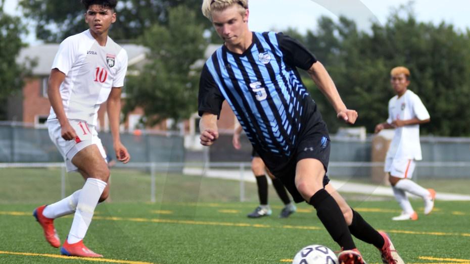 Gallery: Boys' Varsity Soccer Game vs. Wyandotte