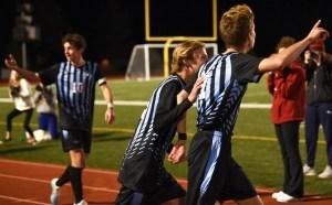 Gallery: Boys Varsity Soccer Falls to Olathe West 2-3