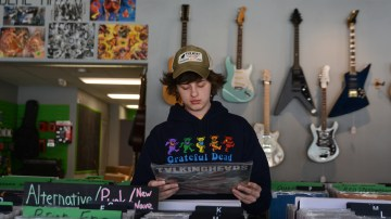 Record Breaking: Max Bunte's Longtime Passion for Collecting CDs and Vinyl