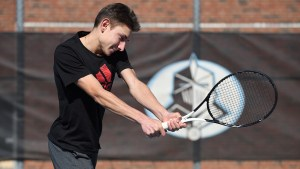 Playing for the Win: Junior Blake Eason realizes his commitment to tennis