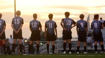Gallery: Boys Varsity Soccer takes down SM North 2-0