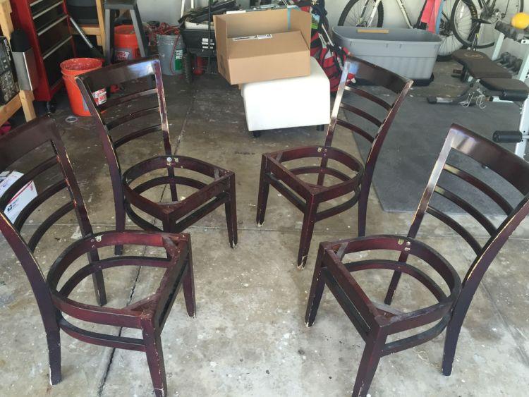 4 стула