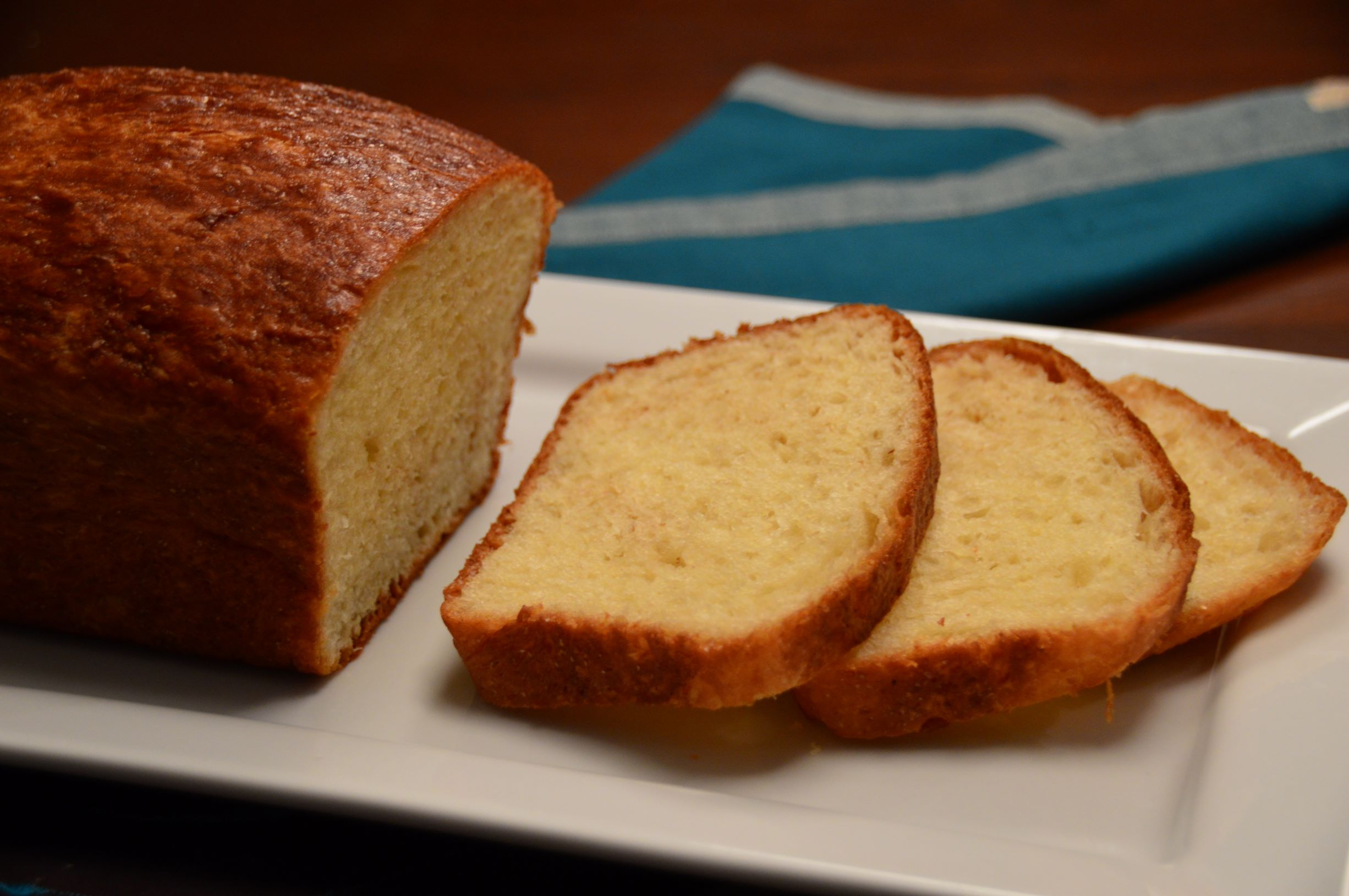 Simple Mixing and No Kneading Brioche