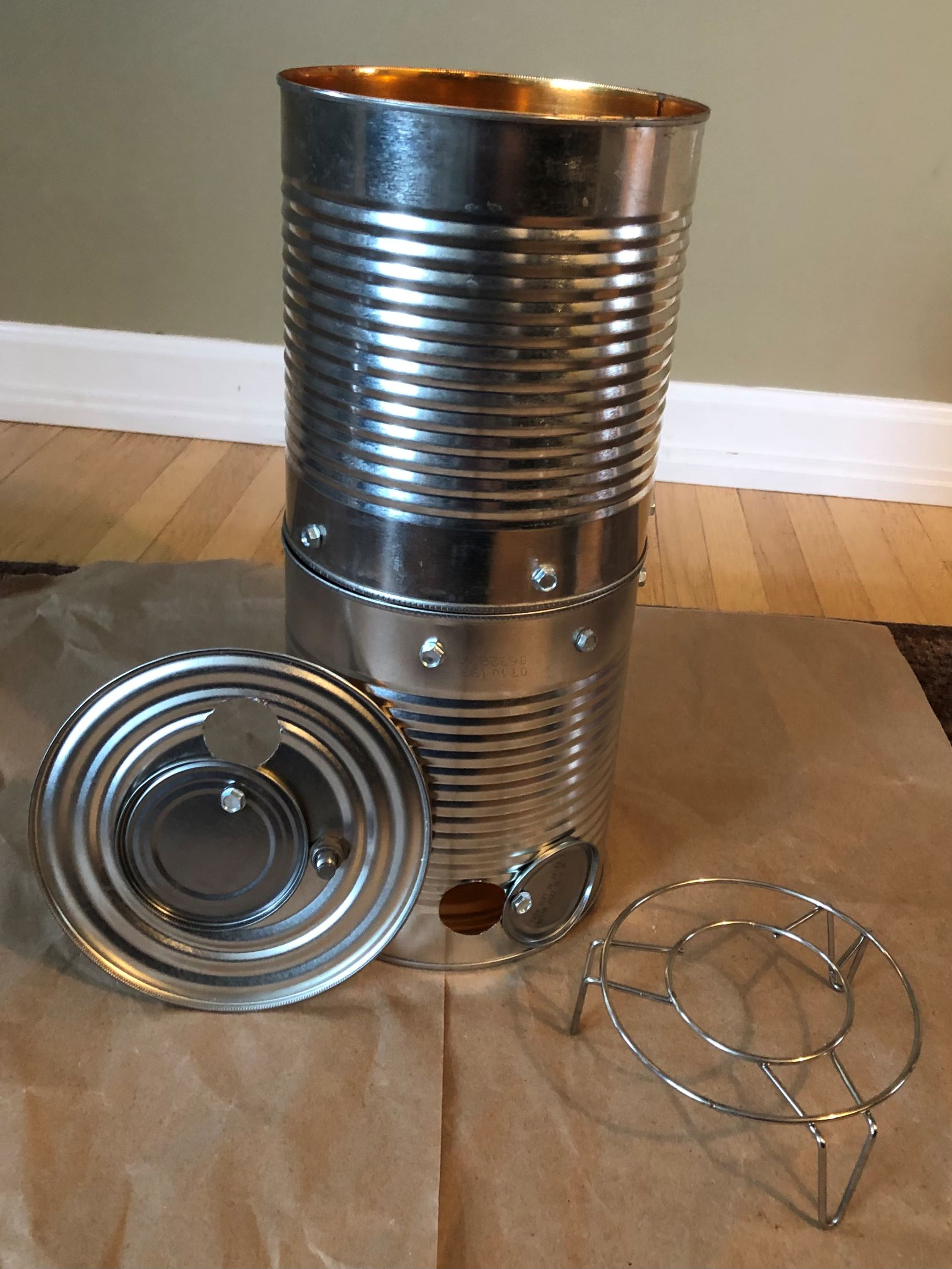 DIY $5 Tin Can Smoker