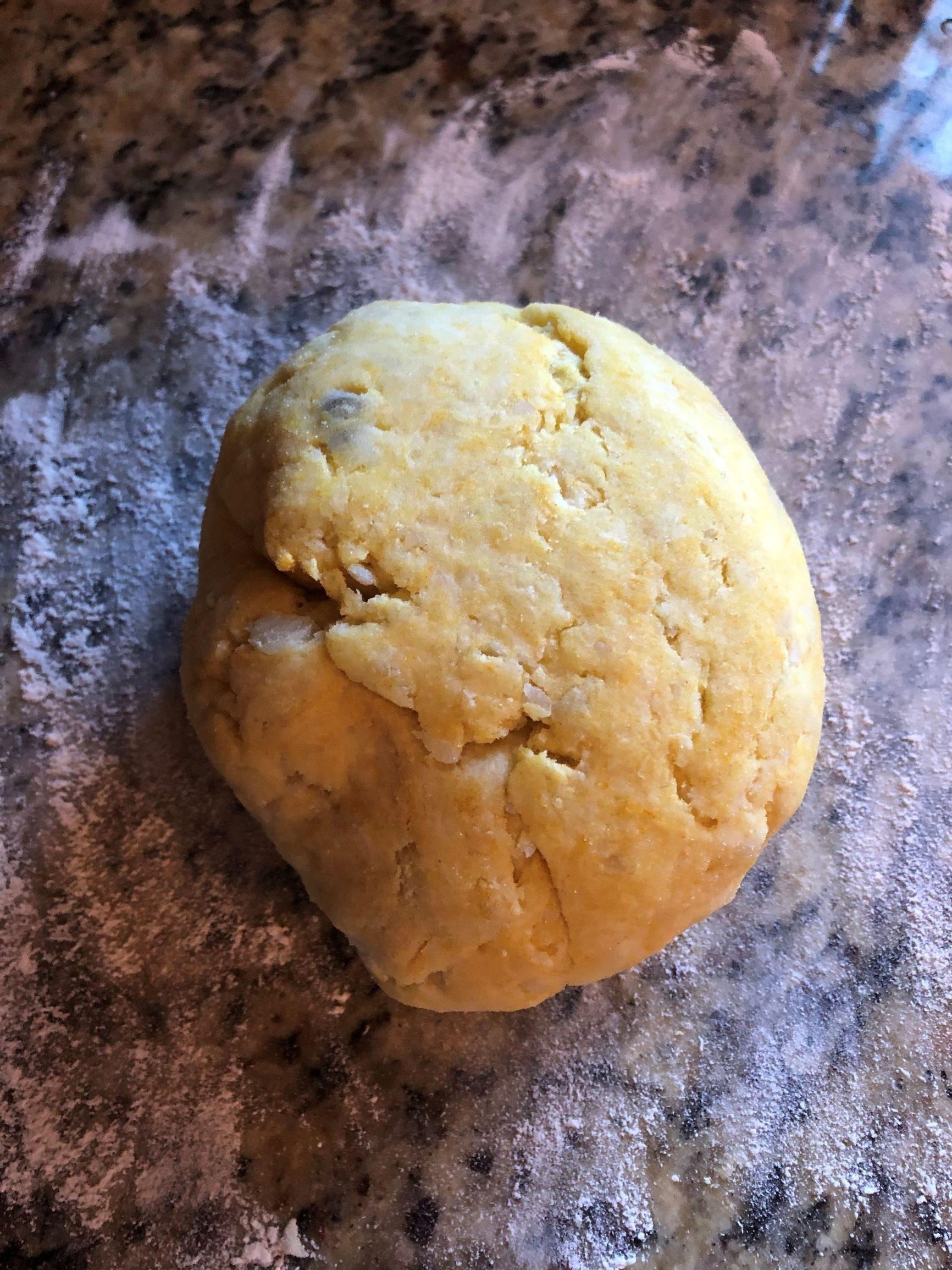 Gnocchi - Kneaded gnocchi dough