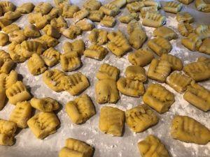 Gnocchi - Pan of gnocchi