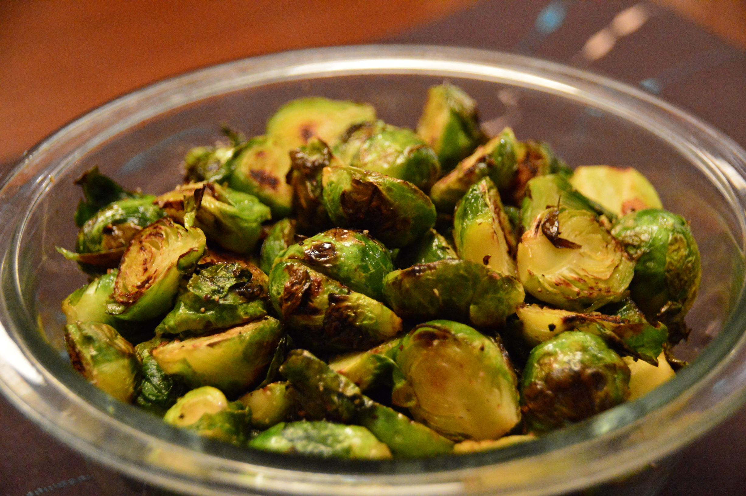 Caramelized Maple Brussel Sprouts