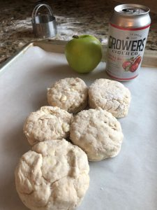 Apple Cider Biscuit with Growers Apple Cider