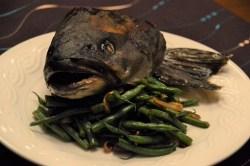 Roasted Whole Sablefish