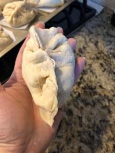 Steamed Bao Folding - Seal opening
