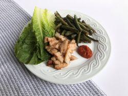 Korean Barbecue Pork Jowl Lettuce Wraps