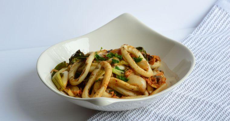 Korean Grilled Squid Rings