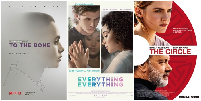 Ciné club #43 : To the bone, Everything everything et The circle