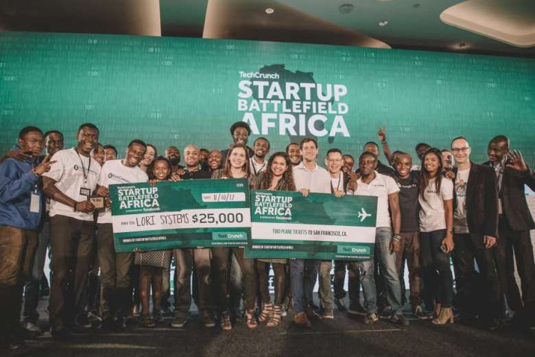 Winners of TechCrunch Startup Battlefield Africa 2017