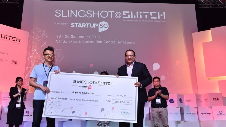 Over $500K Grant Available at SLINGSHOT@SWITCH Startup Challenge, Singapore