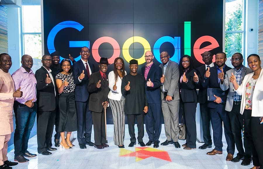 Why VP Osinbajo's Visit to Google HQ and the Silicon Valley is Significant