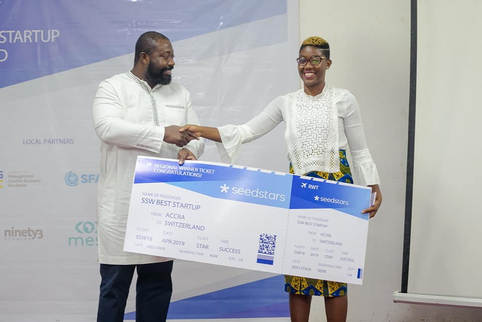 Cowtribe Technology Wins Best Startup at Seedstars World Summit, Ghana
