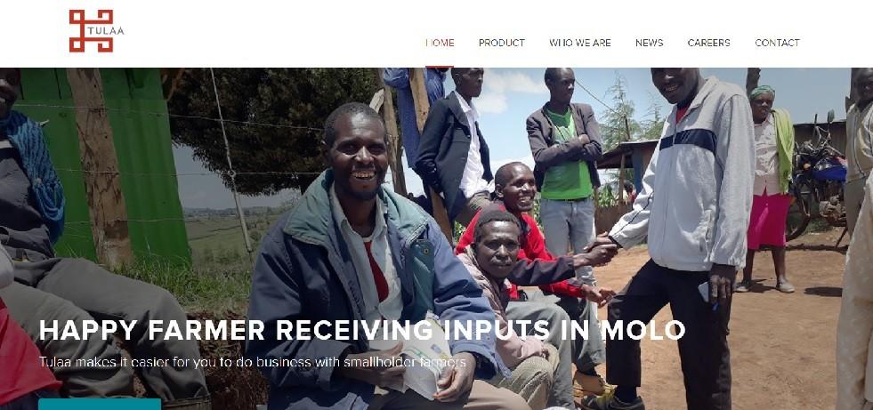 Tulaa website screenshot - Smepeaks