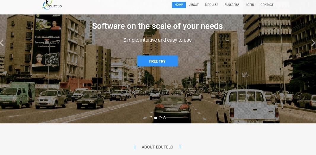 Ebutelo website screenshot - Smepeaks