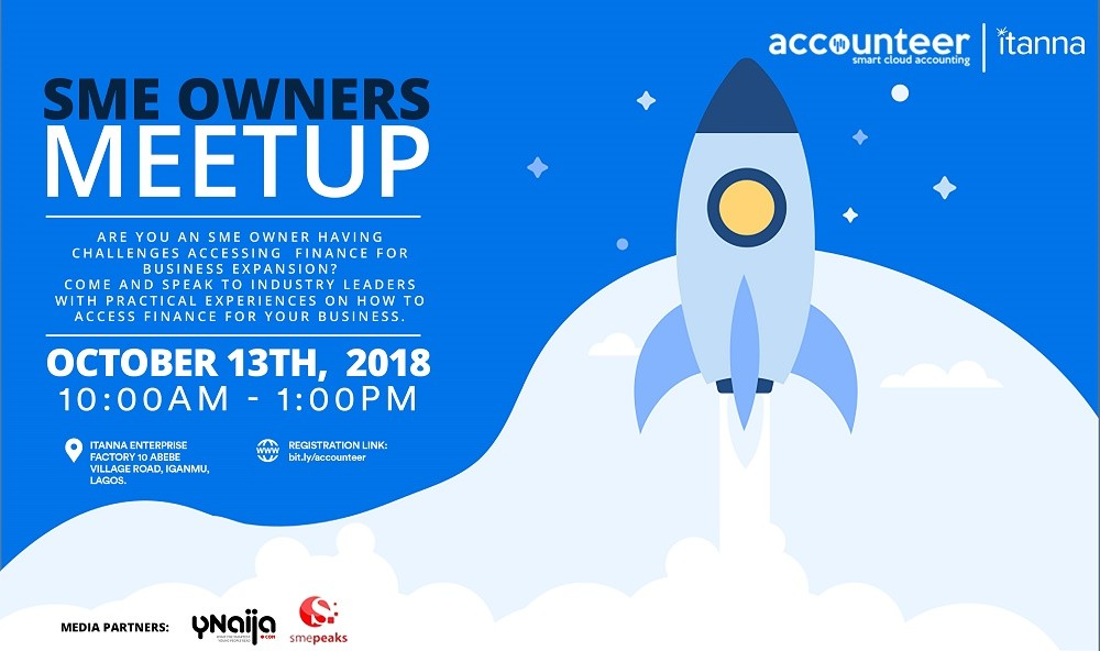 Happening This Saturday: Learn Ways to Access Funding at Accounteer SME Meetup