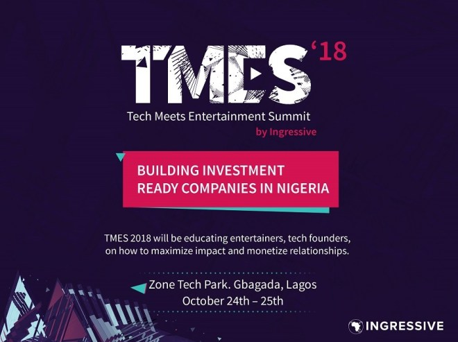 Tech Meets Entertainment Summit - Ingressive Capital - Smepeaks.com
