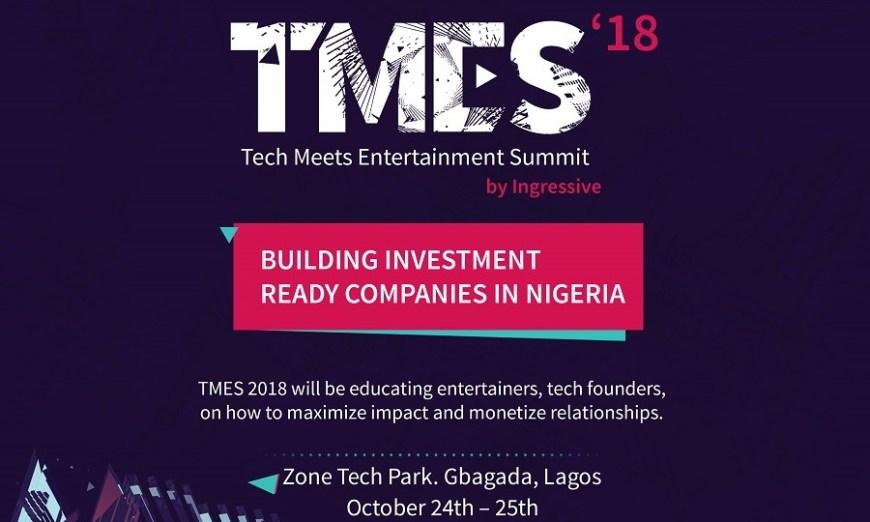 Tech Meets Entertainment Summit - Ingressive Capital - Smepeaks.com