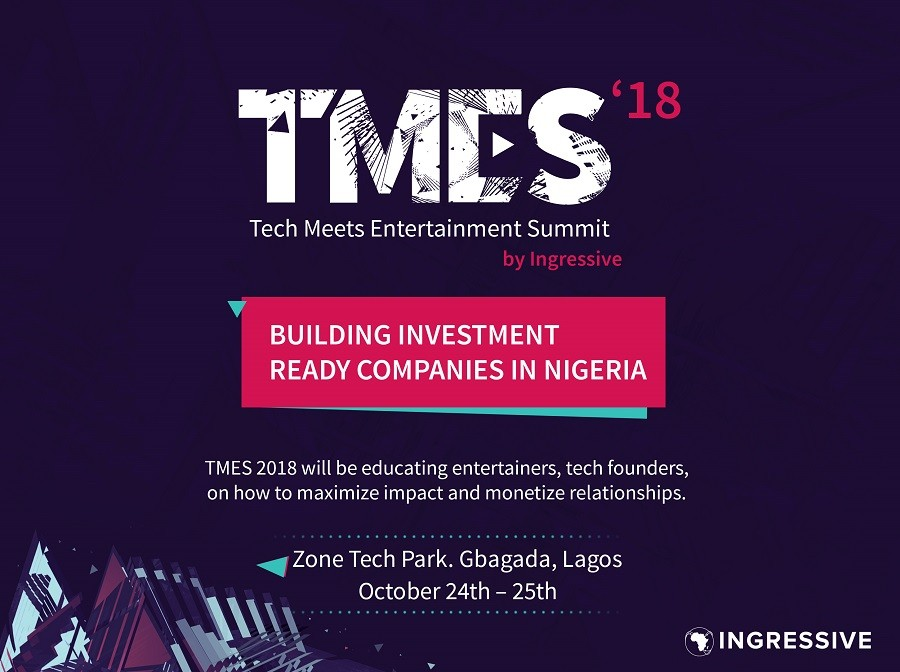 Gary Ross, Don Jazzy, Mark Essien, Naeto C, Others will be at TMES'18 by Ingressive