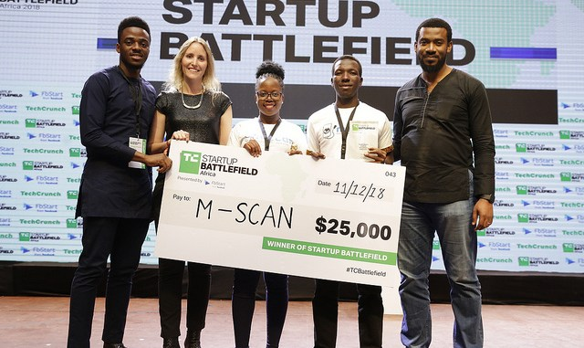 Ugandan M-SCAN Wins $25,000 at TechCrunch Startup Battlefield Africa, Lagos Edition