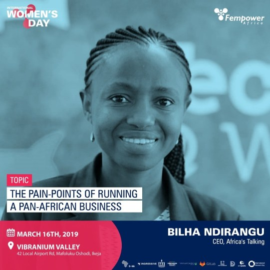 Bilha Ndirangu - Fempower Africa IWD Event