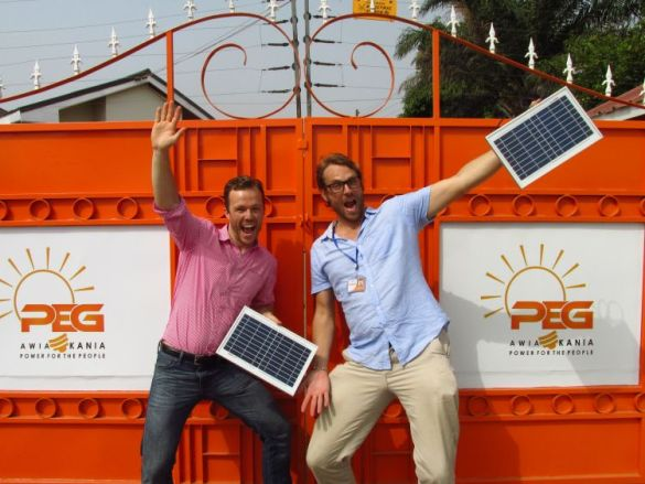 solar company PEG Africa