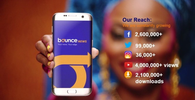 Source: Bounce News mobile app impressive figures