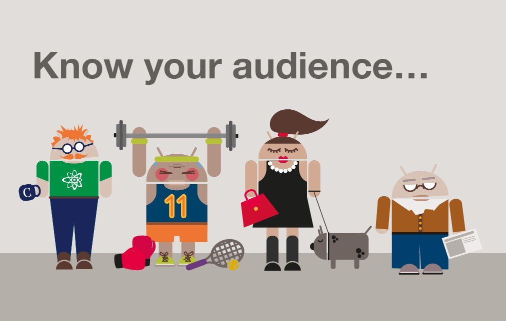Know your audience to get a million users for your mobile app