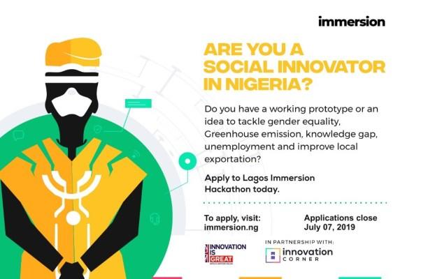 Lagos Immersion hackathon